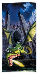 Unleashed Hand Towel by The Dragon Chronicles
