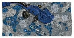 Violinelle - V02-09a Hand Towel by Variance Collections