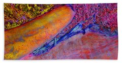 Hand Towel featuring the digital art Waking Up by Richard Laeton