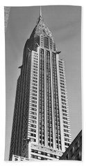 Chrysler Building Hand Towel by American School