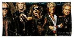 Aerosmith Collection Hand Towel by Marvin Blaine