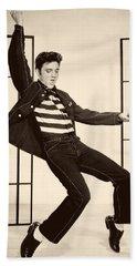 Elvis Presley In Jailhouse Rock 1957 Hand Towel by Mountain Dreams