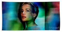 Grace Kelly Hand Towel by Marvin Blaine