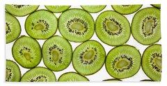 Kiwifruit Hand Towel by Nailia Schwarz