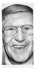 Lou Holtz Hand Towel by Greg Joens