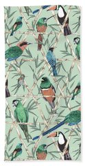Menagerie Hand Towel by Jacqueline Colley