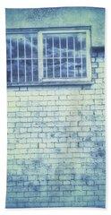 Old Window Bars Hand Towel by Tom Gowanlock