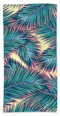 Palm Trees  Hand Towel by Mark Ashkenazi