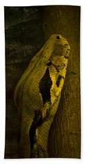 Snake Hand Towel by Svetlana Sewell