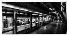 The Underground System Hand Towel by David Pyatt
