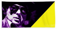 Van Morrison Collection Hand Towel by Marvin Blaine