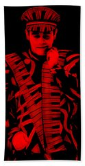Elton John Collection Hand Towel by Marvin Blaine