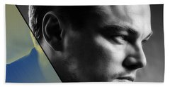 Leonardo Dicaprio Collection Hand Towel by Marvin Blaine