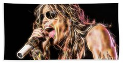 Steven Tyler Collection Hand Towel by Marvin Blaine