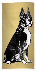 Boxer Collection Hand Towel by Marvin Blaine