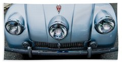 Hand Towel featuring the photograph 1947 Tatra T87 by M G Whittingham