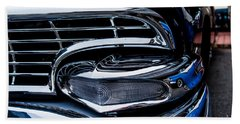 Hand Towel featuring the photograph 1958 Ford Crown Victoria by M G Whittingham