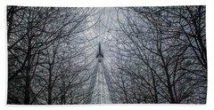 London Eye Hand Towel by Martin Newman