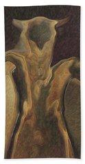 Minotaur  Hand Towel by Quim Abella