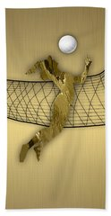Vollyball Collection Hand Towel by Marvin Blaine