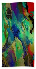 Rock Climber Collection Hand Towel by Marvin Blaine