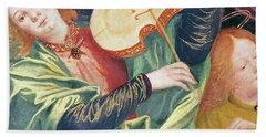The Concert Of Angels Hand Towel by Gaudenzio Ferrari