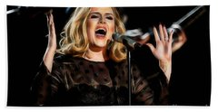 Adele Collection Hand Towel by Marvin Blaine