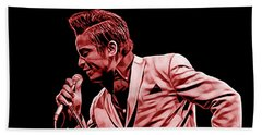 Jackie Wilson Collection Hand Towel by Marvin Blaine