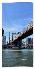 59th Street Bridge No. 13 Hand Towel by Sandy Taylor