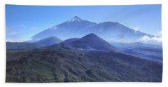 Tenerife - Mount Teide Hand Towel by Joana Kruse