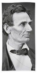 Abraham Lincoln Hand Towel by Alexander Hesler