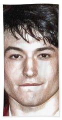 Actor And Musician Ezra Miller Hand Towel by Best Actors