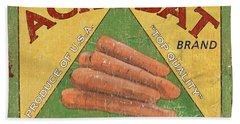 Americana Vegetables 2 Hand Towel by Debbie DeWitt