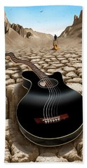 An Acoustic Nightmare 2 Hand Towel by Mike McGlothlen