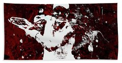 Angelique Kerber 3f Hand Towel by Brian Reaves
