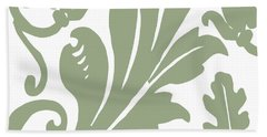 Arielle Olive Hand Towel by Mindy Sommers