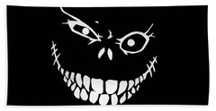 Crazy Monster Grin Hand Towel by Nicklas Gustafsson