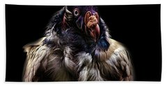 Bad Birdy Hand Towel by Martin Newman