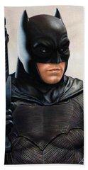 Batman 2 Hand Towel by David Dias