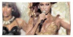 Beyonce 9 Hand Towel by Jani Heinonen