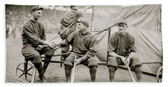 Boston Baseball Players   Gowdy, Tyler, Connolly Hand Towel by American School