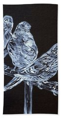 Canaries Hand Towel by Fabrizio Cassetta