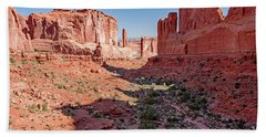 Hand Towel featuring the photograph Arches National Park, Moab, Utah by A Gurmankin