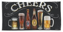 Cheers  Hand Towel by Debbie DeWitt