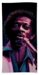 Chuck Berry Hand Towel by Paul Meijering