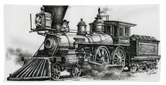 Classic Steam Hand Towel by James Williamson