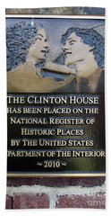 Clinton House Museum 2 Hand Towel by Randall Weidner