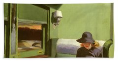 Compartment C Hand Towel by Edward Hopper