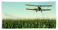 Crops Dusted Hand Towel by Todd Klassy