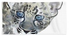 Cub Hand Towel by Mark Adlington